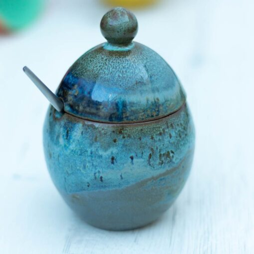 azucarero de cerámica Sugar bowl